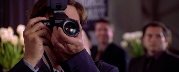 Canon F-1 Photo Camera - Spider-Man 2 (2004) Movie Product Placement