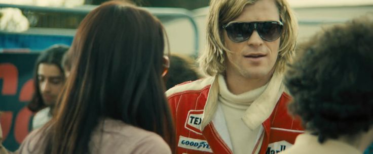 Carrera Speedway sunglasses worn by Chris Hemsworth in RUSH (2013) Movie Product Placement