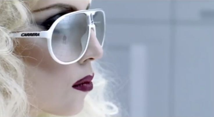 Carrera Sunglasses - Lady Gaga - BAD ROMANCE - Official Music Video Product Placement