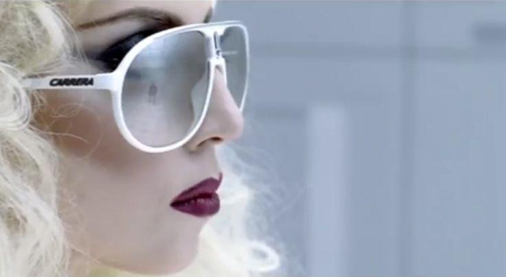 Carrera Sunglasses - Lady Gaga - BAD ROMANCE Official Music Video
