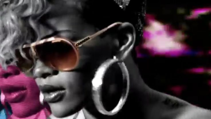 Carrera Sunglasses - Rihanna - RUDE BOY Official Music Video Product Placement