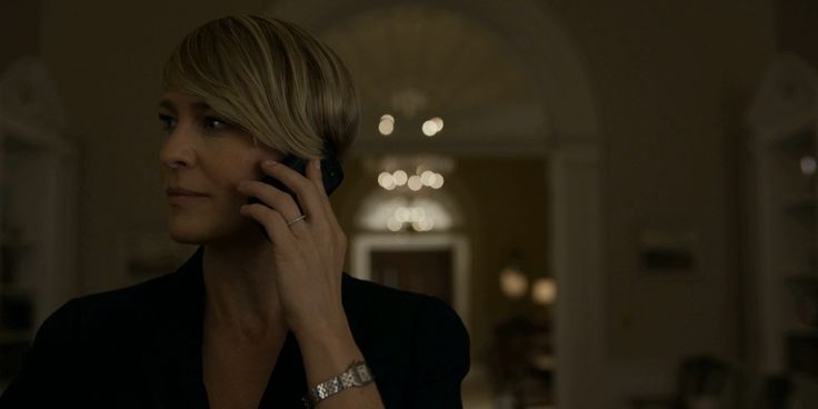 Cartier watch & Blackberry phone - House of Cards TV Show Product Placement