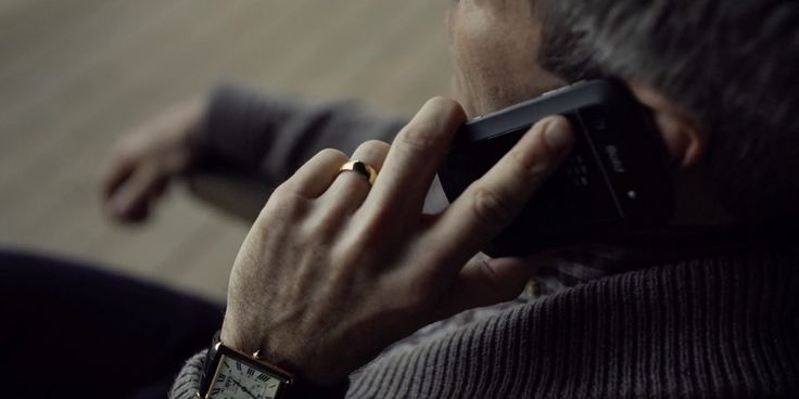 Cartier Tank Watch and Blackberry Mobile Phone - House of Cards TV Show Product Placement