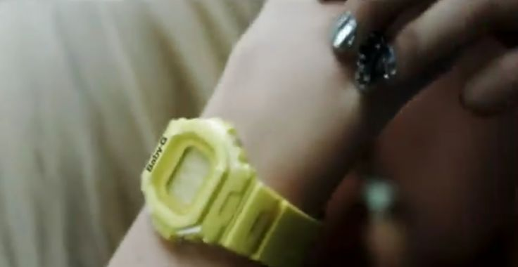 Casio Baby-G watch - Lady Gaga - LOVE GAME Official Music Video Product Placement