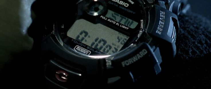 Casio G-Shock Watches - AVP: Alien vs. Predator (2004) Movie Product Placement