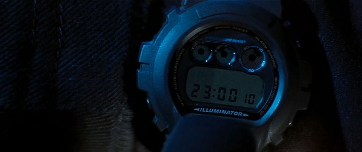 Casio G-Shock watch - Mission: Impossible 2 (2000) Movie Product Placement
