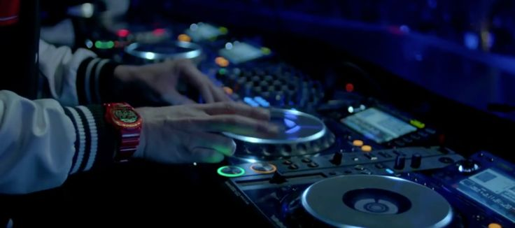 Casio G-shock Watches - Tiësto - Red Lights Official Music Video Product Placement