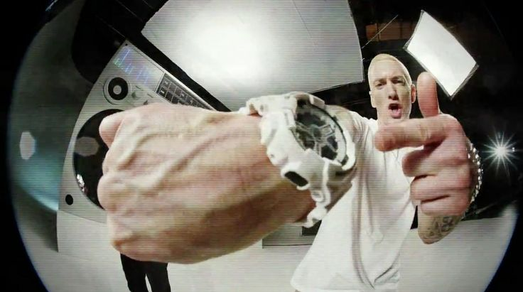 Casio G-Shock x Maharishi GA110MH-7A worn by Eminem in BERZERK (2013) Official Music Video Product Placement