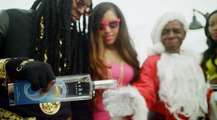 Cavoda Vodka poured by 2 Chainz in I'M DIFFERENT (2012) Official Music Video Product Placement