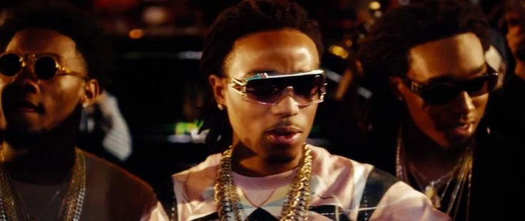 80f5d6be0480 Cazal x Swagger sunglasses worn by Takeoff in FIGHT NIGHT by MIGOS (2014)