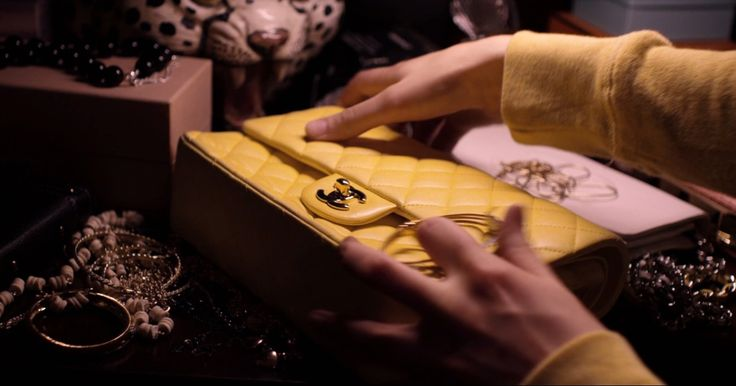 Chanel bag in THE BLING RING (2013) Movie Product Placement
