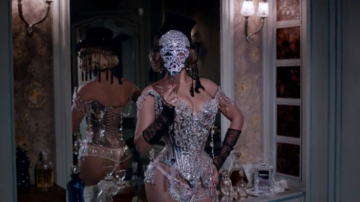 Chanel evening bag in PARTITION by Beyonce (2014) Official Music Video Product Placement