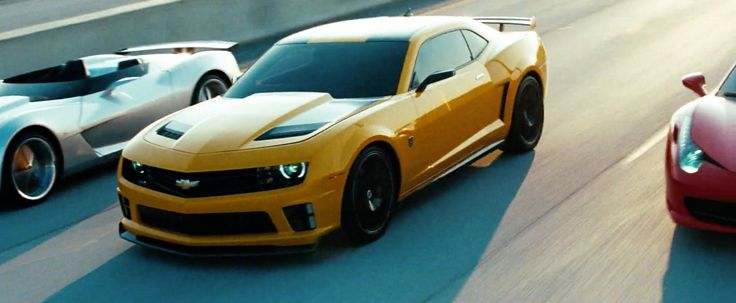 Chevrolet Camaro Car - Transformers: Dark of the Moon (2011) Movie Product Placement