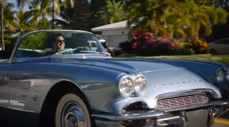 Chevrolet Corvette C1 car driven by Troy Garity in BALLERS: HEADS WILL ROLL (2015) TV Show Product Placement
