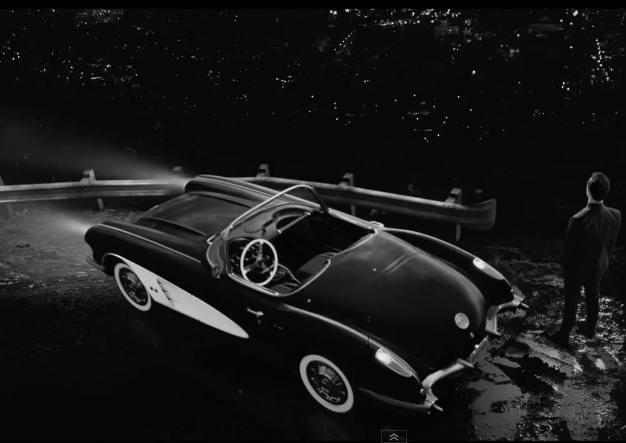 Chevrolet Corvette C1 driven by Joseph Gordon-Levitt in SIN CITY: A DAME TO KILL FOR (2014) - Movie Product Placement