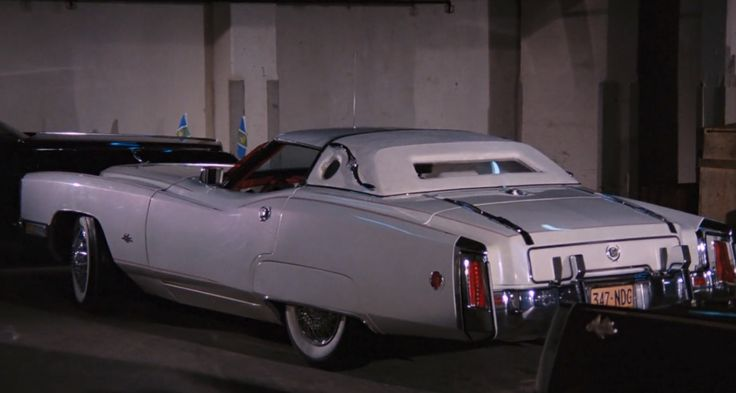 Chevrolet Corvette 'Corvorado' C3 car in LIVE AND LET DIE (1973) Movie Product Placement