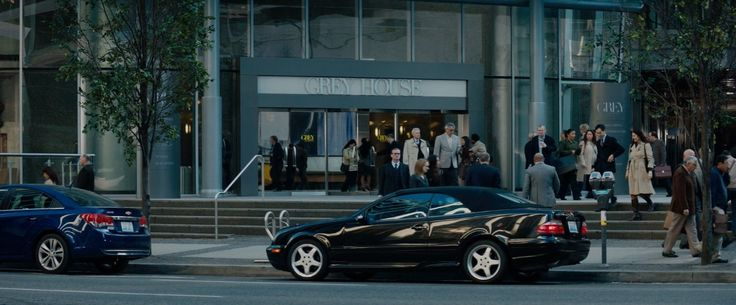 Chevrolet Cruze and Mercedes-Benz CLK [A208] cars in FIFTY SHADES OF GREY (2015) Movie Product Placement