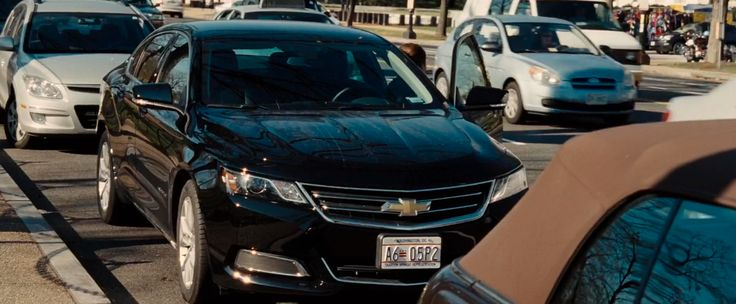 Chevrolet Impala (2014) car in JASON BOURNE (2016) Movie Product Placement