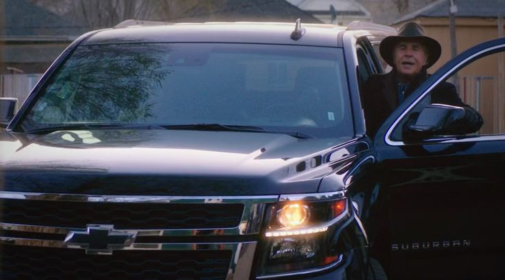 Chevrolet Suburban (2015) SUV driven by Don Johnson in BLOOD & OIL: THE BIRTHDAY PARTY (2015) - TV Show Product Placement
