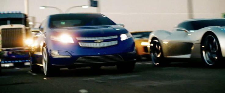 Chevrolet Volt - Transformers: Revenge of the Fallen (2009) Movie Product Placement