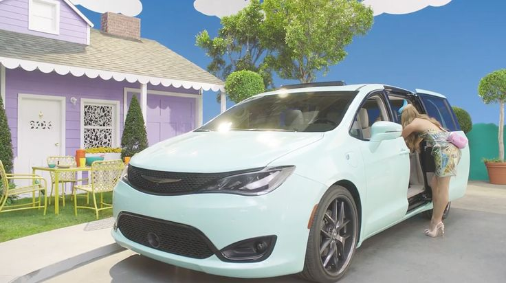 Chrysler Pacifica car in M.I.L.F. $ by Fergie (2016) Official Music Video Product Placement