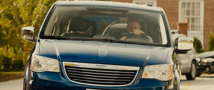 Chrysler Town & Country car in FURIOUS 7 (2015) Movie Product Placement