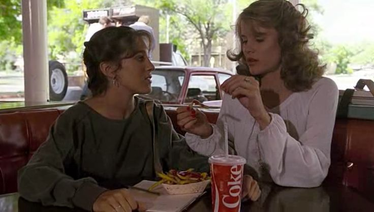 Coca-Cola paper cup - FOOTLOOSE (1984) Movie Product Placement