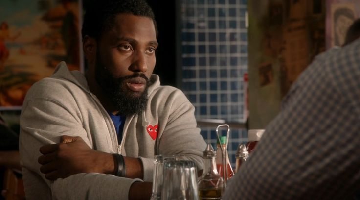 Comme des Garçons jacket worn by John David Washington in BALLERS: PILOT (2015) - TV Show Product Placement