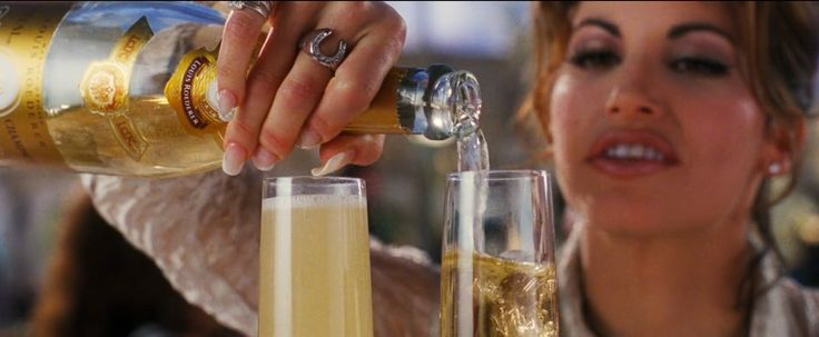 Cristal champagne in SHOWGIRLS (1995) Movie Product Placement