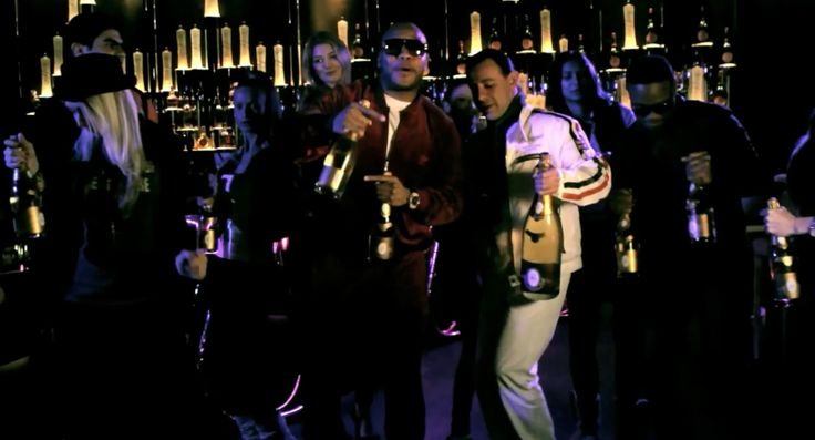 Cristal Champagne in WILD ONES by Flo Rida (2011) - Official Music Video Product Placement