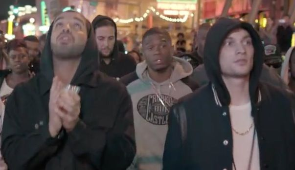 Crooks & Castles hoodie in WORST BEHAVIOR by Drake (2013) - Official Music Video Product Placement