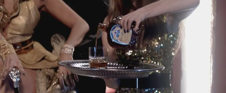 Crown Royal whisky in On The Floor - Jennifer Lopez Official Music Video Product Placement