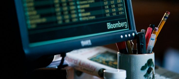 Dell monitor and Bloomberg software in THE BIG SHORT (2015) Movie Product Placement
