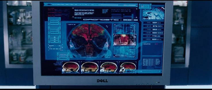 Dell monitor in X-MEN: THE LAST STAND (2006) Movie