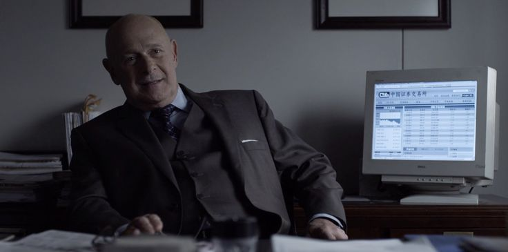 Dell monitor used by Gerald McRaney in HOUSE OF CARDS: CHAPTER 22 (2014) - TV Show Product Placement