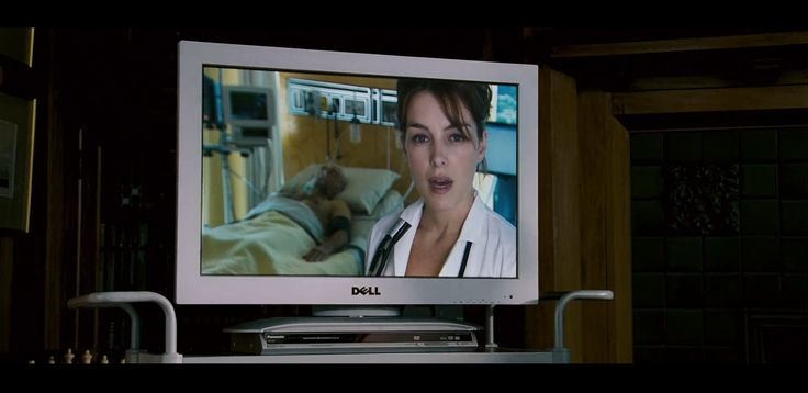 Dell TV in X-MEN: THE LAST STAND (2006) Movie Product Placement