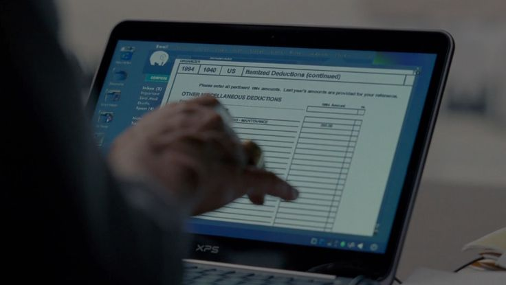 Dell XPS laptop used by Woody Harrelson in TRUE DETECTIVE: FORM AND VOID (2014) - TV Show Product Placement