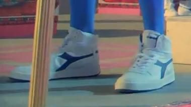 Diadora MI Basket II shoes in DARK HORSE by Katy Perry (2013) Official Music Video Product Placement