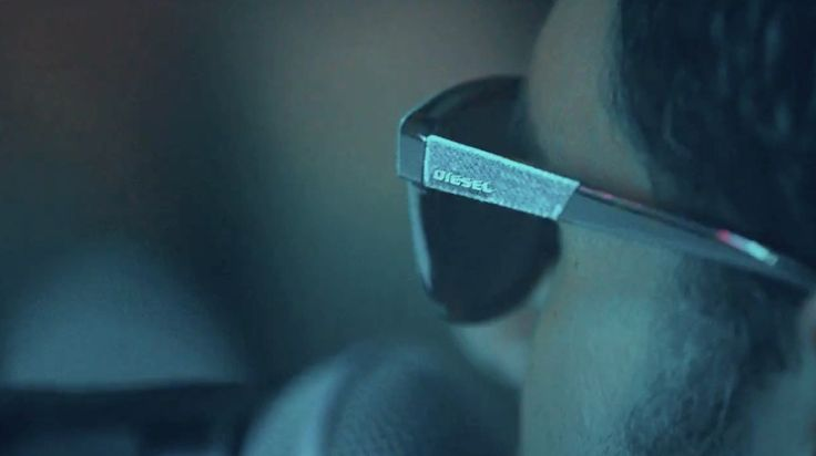 Diesel sunglasses in I SOLD MY BED, BUT NOT MY STEREO by Capital Cities (2013) Official Music Video Product Placement