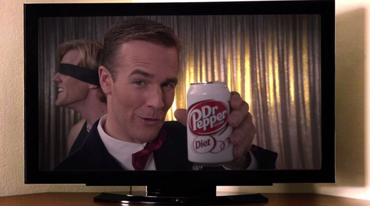 Diet Dr Pepper drink in DON'T TRUST THE B---- IN APARTMENT 23: DATING GAMES (2013) TV Show Product Placement