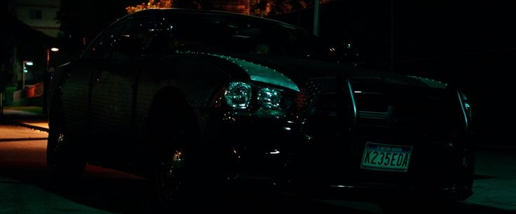 Dodge Charger Pursuit car driven by Frank Grillo in THE PURGE: ANARCHY (2014) Movie Product Placement