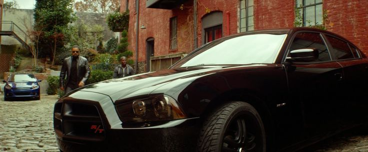 Dodge Charger SRT-8 driven by Ice Cube in RIDE ALONG (2014) Movie Product Placement