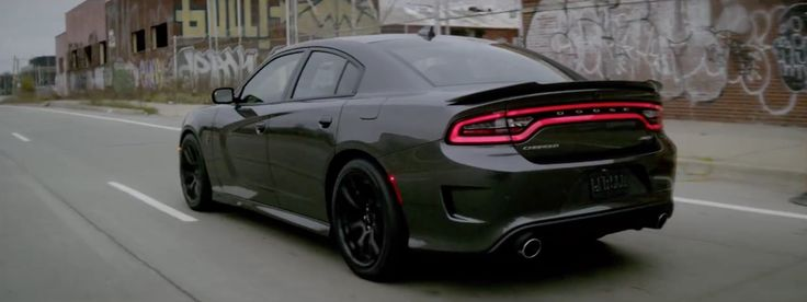 Dodge Charger SRT Hellcat car in GUTS OVER FEAR by Eminem (2014) Official Music Video