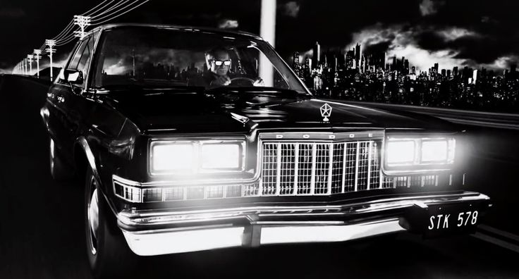 Dodge Diplomat car in SIN CITY: A DAME TO KILL FOR (2014) Movie Product Placement