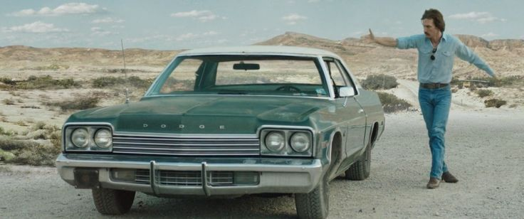 Dodge Monaco (1974) car driven by Matthew McConaughey in DALLAS BUYERS CLUB (2013) - Movie Product Placement