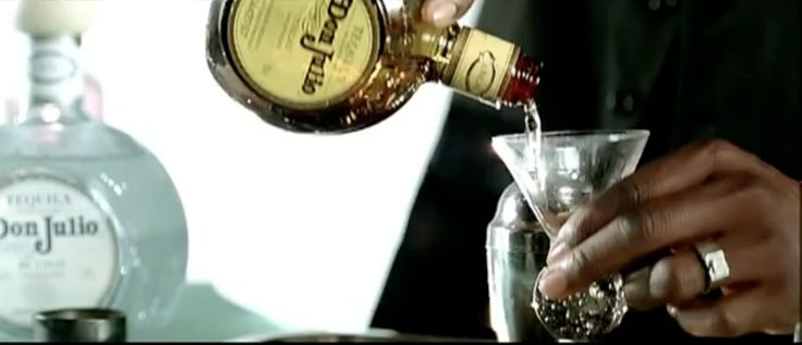 Don Julio tequila in TURNIN ME ON by Keri Hilson (2009) - Official Music Video Product Placement