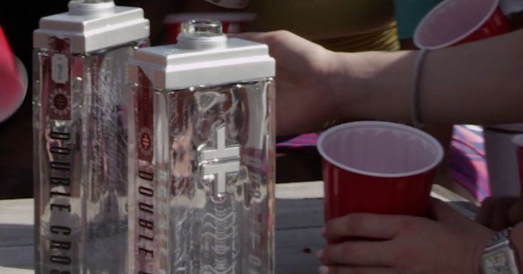 Double Cross vodka in CHANGE YOUR MIND by Trey Songz (2014) Official Music Video Product Placement