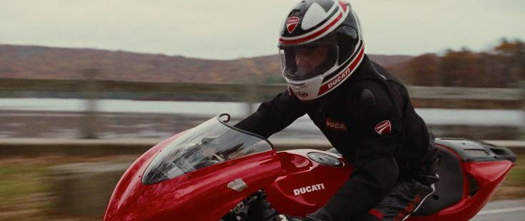 Ducati Motorcycle, Jacket & Helmet - Wall Street: Money Never Sleeps (2010) Movie Product Placement
