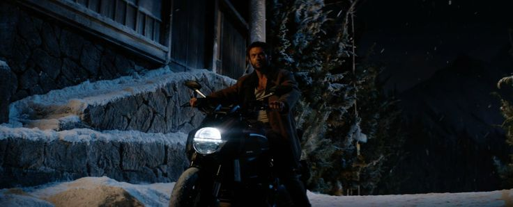 Ducati Diavel Motorcycle driven by Hugh Jackman in THE WOLVERINE (2013) Movie Product Placement