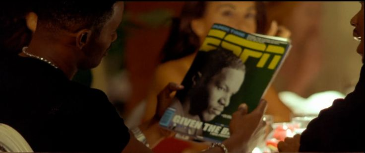 ESPN The Magazine in ANY GIVEN SUNDAY (1999) Movie Product Placement